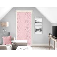 Rideau - Store - Accessoire SOLEIL D'OCRE Brise bise Liane 70x200 cm - Rose - Soleil D Ocre