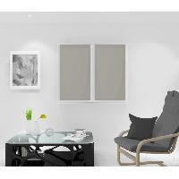Rideau - Store - Accessoire SOLEIL D'OCRE Paire de Brise bise Noemie - 45 x 90 cm - Taupe - Soleil D Ocre
