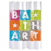 Rideau De Douche GELCO Rideau de douche Bath Art 180 x 200 cm multicolore