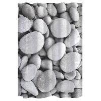 Rideau De Douche GELCO Rideau de douche Stone 180 x 200 cm gris