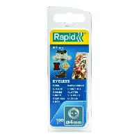 Rivet RAPID 100 oeillets 4mm