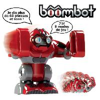 Robot- Personnage - Animal Anime Miniature GIOCHI BOOMBOT Humanoide Robot Rouge