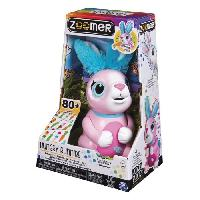 Robot- Personnage - Animal Anime Miniature Hungry Bunnies Zoomer - Modele aleatoire