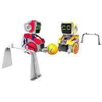 Robot- Personnage - Animal Anime Miniature Kickabot Bi Pack