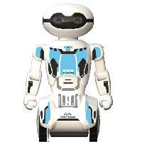 Robot- Personnage - Animal Anime Miniature Macrobot - Robot Humanoide radiocommande - Blanc et Bleu
