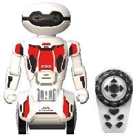 Robot- Personnage - Animal Anime Miniature Macrobot - Robot Humanoide radiocommande - Blanc et Rouge