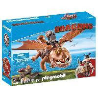 Robot- Personnage - Animal Anime Miniature PLAYMOBIL 9460 - Dragons - Varek et Bouledogre