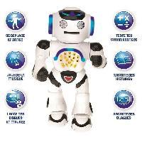 Robot- Personnage - Animal Anime Miniature Powerman - Robot educatif interactif pour Jouer Et Apprendre. Danse. Joue De La Musique. Quiz Educatifs. Lance des Disques