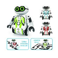 Robot- Personnage - Animal Anime Miniature SILVERLIT - Maze Breaker - Robot Interactif - Bleu