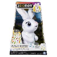 Robot- Personnage - Animal Anime Miniature ZOOMER Hungry Bunnies Chewy