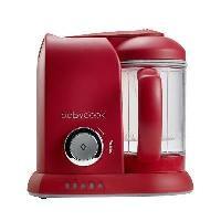 Robot Bebe BEABA Robot Babycook Solo - Bébé mixte - Rouge