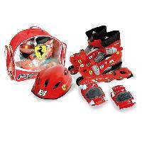 Roller In Line BEYBLADE Pack Rollers en Ligne + Set de Protections et Casque