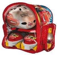 Roller In Line CARS Set Rollers 4 roues Casque et Protections