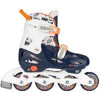 Roller In Line NIJDAM JUNIOR Rollers en ligne - Enfant - Bleu