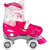 Roller In Line NIJDAM JUNIOR Rollers quad ajustables - Enfant - Rose