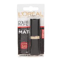 Rouge A Levres GEMEY MAYBELLINE Rouge a levres Coloration riche mat 346 red perfecto