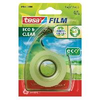 Ruban Adhesif - Mousse Adhesive TESA 1 derouleur ecoLogo + 1 ruban tesafilm ECO et CLEAR - 33mm x 19mm