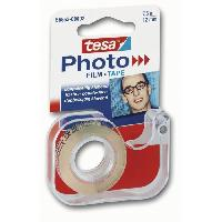Ruban Adhesif - Mousse Adhesive TESA Double-face photos Grand Format 7.5mm x 12mm + derouleur rechargeable