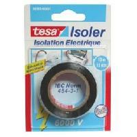 Ruban Adhesif Electricite Ruban Adhesif Isolation electrique - 10m x 15mm - Noir