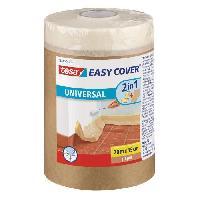 Ruban Masquage - Film Adhesif Masquage Ruban de masquage + Easy Cover ecoLogo Kraft S. -bache + ruban de masquage- 20m x 150mm