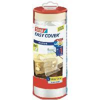 Ruban Masquage - Film Adhesif Masquage Ruban de masquage avec film + Easy Cover Premium L -bache + ruban de masquage- - 33m x 1400mm
