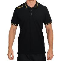 Rugby BLK Polo - Noir/Or - M