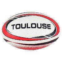 Rugby CHRONOSPORT Ballon de Rugby Toulouse T5 - 5 - Séniors