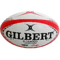 Rugby GILBERT Ballon G-TR4000 TRAINER - Taille 3 - Rouge