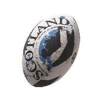 Rugby GILBERT Ballon de rugby FLAG SUPPORTER - Ecosse - Taille 5