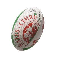 Rugby GILBERT Ballon de rugby FLAG SUPPORTER - Pays de Galles - Taille 5