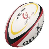 Rugby GILBERT Ballon de rugby REPLICA - Gwent Dragons - Taille Midi