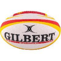 Rugby GILBERT Ballon de rugby REPLICA - Perpignan - Taille Mini