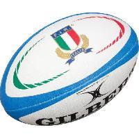 Rugby GILBERT Ballon de rugby REPLICA - Taille Mini - Italie