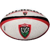 Rugby GILBERT Ballon de rugby Replica Toulon Yack T5