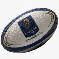Rugby GILBERT Ballon de rugby Replique Champions Cup - Taille 5 - Homme