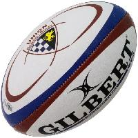 Rugby GILBERT Ballon de rugby Replique Club Bordeaux Belges - Taille 5 - Homme