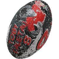 Rugby GILBERT Ballon de rugby SUPPORTER - Pays de Galles Toby Faletau - Taille 5