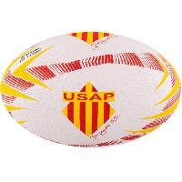 Rugby GILBERT Ballon de rugby SUPPORTER - Perpignan - Taille 5