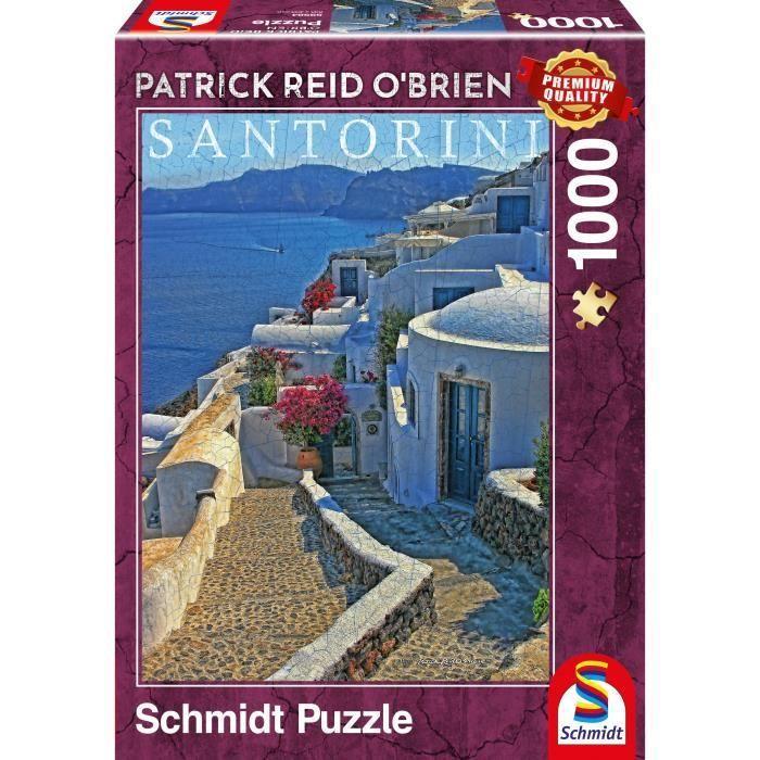 SCHMIDT-AND-SPIELE-Santorin-1000-pcs-Schmidt-Spiele miniature 2