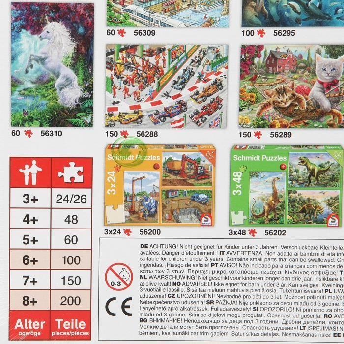 SCHMIDT-SPIELE-Puzzle-Au-pays-des-contes-de-fees-100-pieces miniature 2
