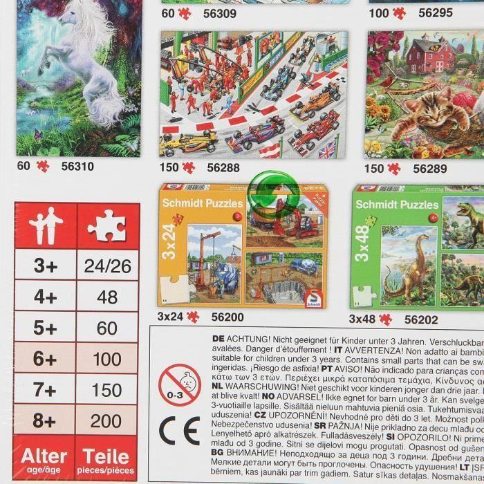 SCHMIDT-SPIELE-Puzzle-Reves-de-chevaux-150-pieces miniature 2