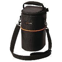 Sac A Dos - Sac Photo - Optique CL-OB30 Sac pour Objectif 110 x 210 x 100 mm - NoirOrange