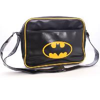 Sac A Dos Sac Besace Logo Batman - Noir - Cotton Division