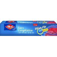 Sac Poubelle - Sac Plastique Boite de 15 sacs Ultra Zip - 27 x 28 cm - MM