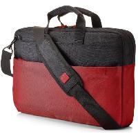 Sacoche Ordinateur - Ecran - Imprimante Mallette pour ordinateur portable - Duotone BriefCase - 15.6 - Rouge Noir