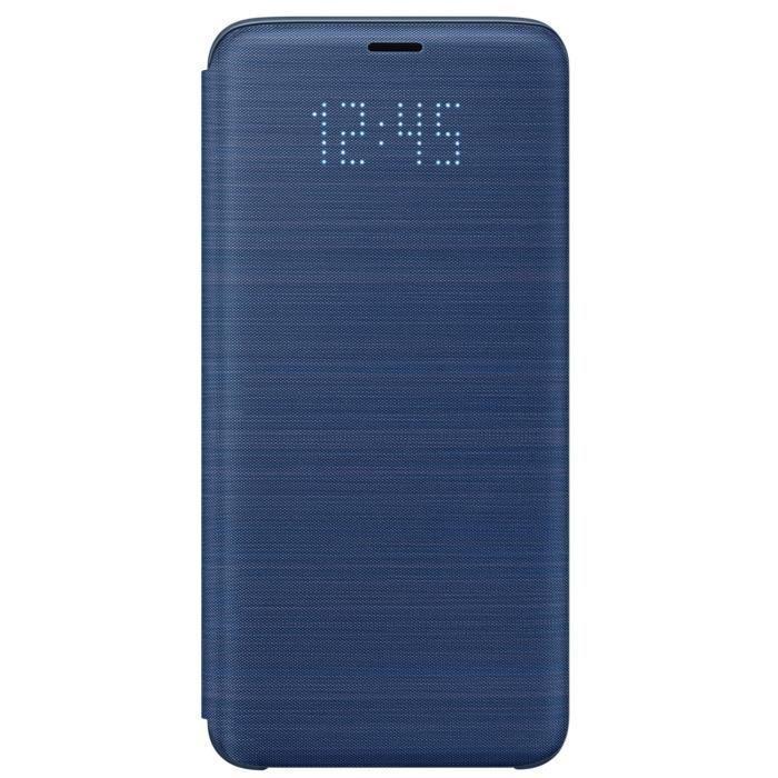 Samsung-LED-View-Cover-S9-Bleu