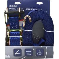 Sangles et tendeurs Sangle a cliquet avec crochets 12m - Special PL