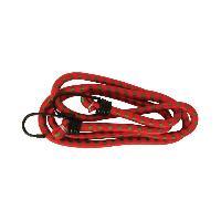 Sangles et tendeurs Tendeur Elastique Rouge Avec Crochets - D10mm 150cm