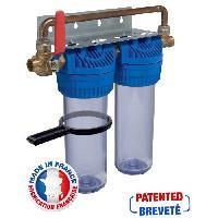 Sanitaire - Plomberie AQUAWATER Station de filtration anti-tartre haute performance 24 mois