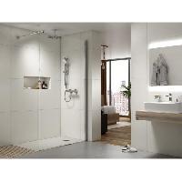 Sanitaire - Plomberie Ensemble de douche - IDEALRAIN EVO - barre 60 cm et douchette diamant O 12.5 cm 3J - Chrome - Ideal Standard